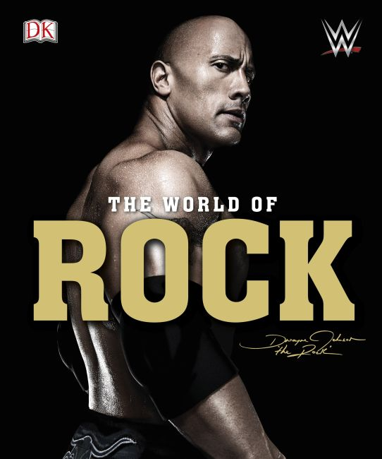 Hardback cover of WWE World of the Rock