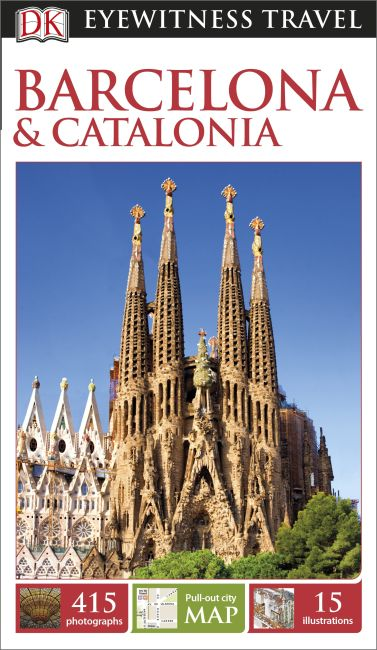 Paperback cover of DK Eyewitness Barcelona and Catalonia