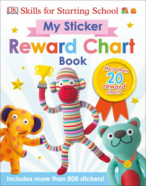 Paperback cover of Skills For Starting School My Sticker Reward Chart Book