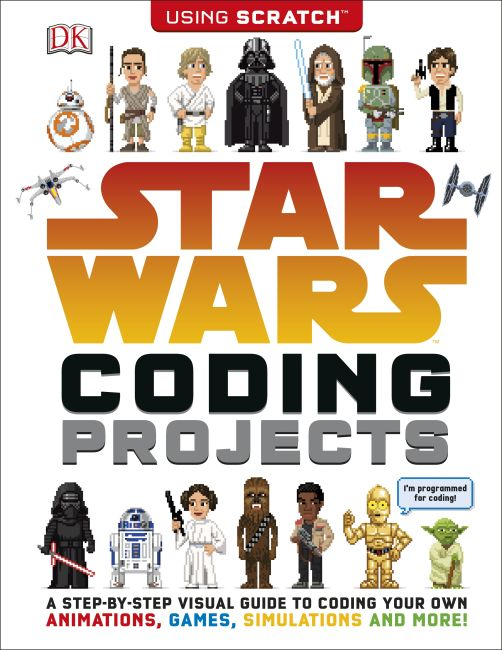 Paperback cover of Star Wars Coding Projects