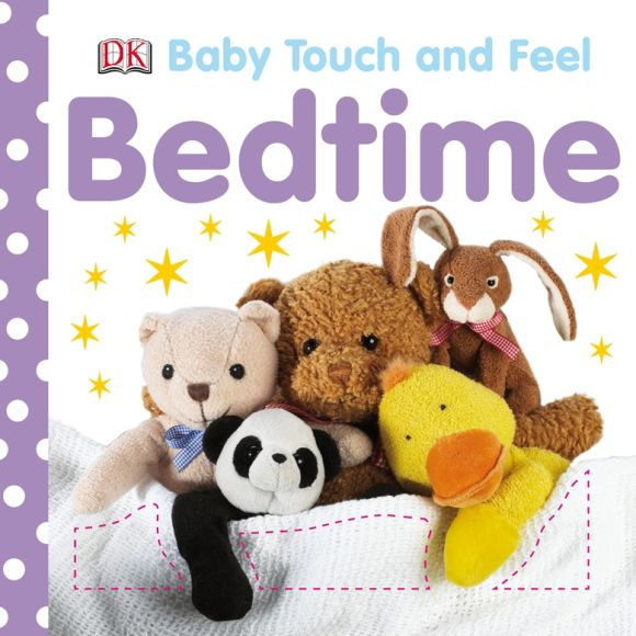 Board book cover of Baby Touch and Feel Bedtime