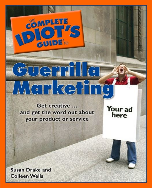 eBook cover of The Complete Idiot's Guide to Guerrilla Marketing