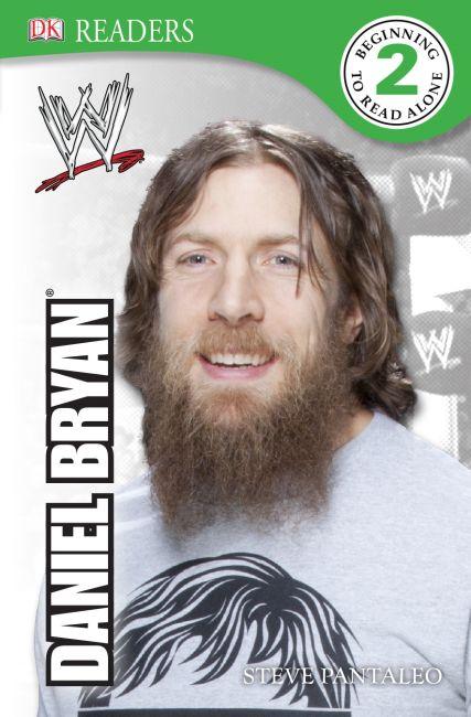 Paperback cover of DK Reader Level 2:  WWE Daniel Bryan