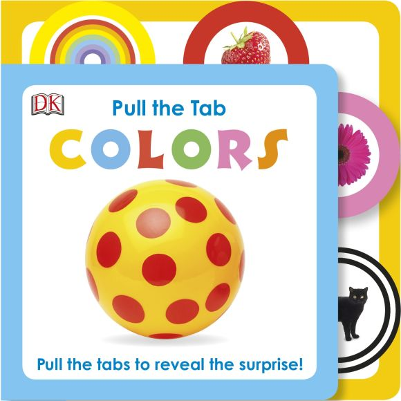 Board book cover of Pull the Tab: Colors
