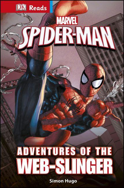 Hardback cover of Marvel Spider-Man Adventures of the Web-Slinger