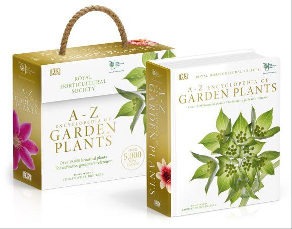 Hardback cover of RHS A-Z Encyclopedia of Garden Plants 4th edition
