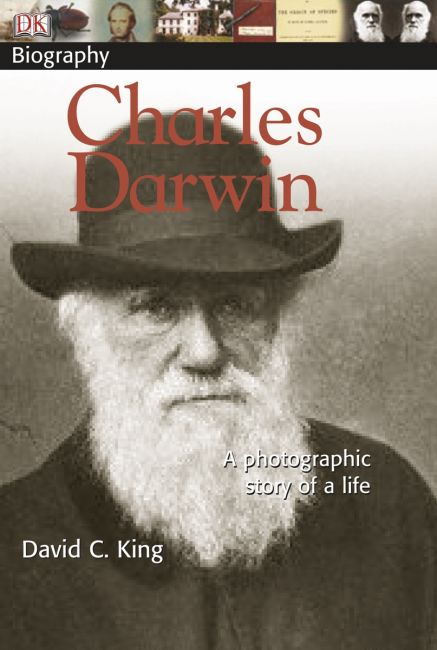 Paperback cover of DK Biography: Charles Darwin