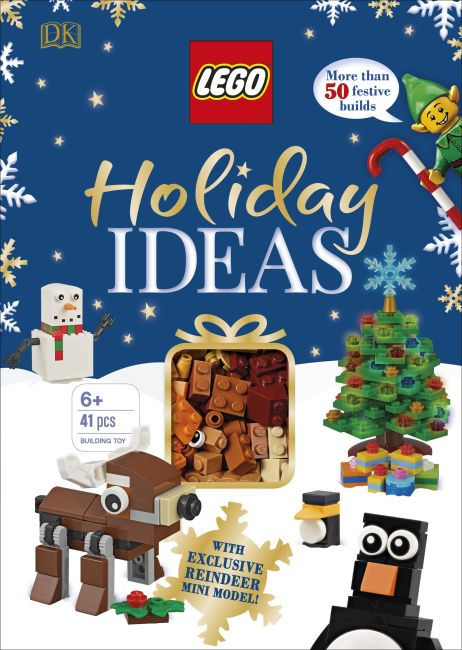 Hardback cover of LEGO Holiday Ideas