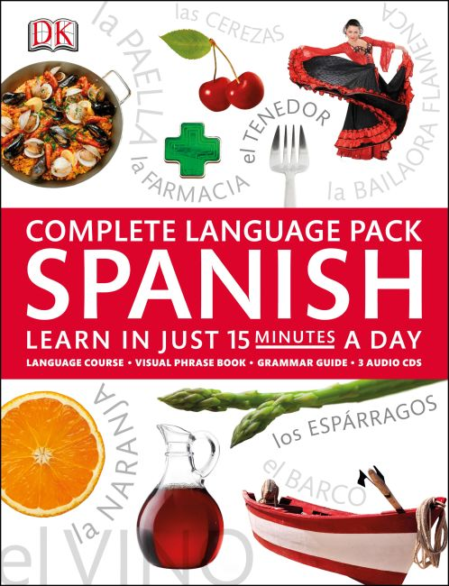 Mixed Media cover of Complete Language Pack Spanish