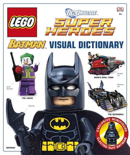 Hardback cover of LEGO® Batman: Visual Dictionary (LEGO® DC Universe Super Heroes)