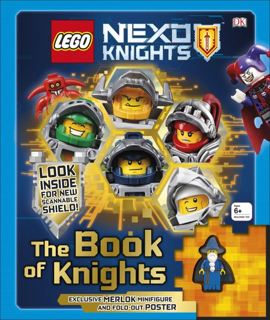 Mixed Media cover of LEGO NEXO KNIGHTS The Book of Knights
