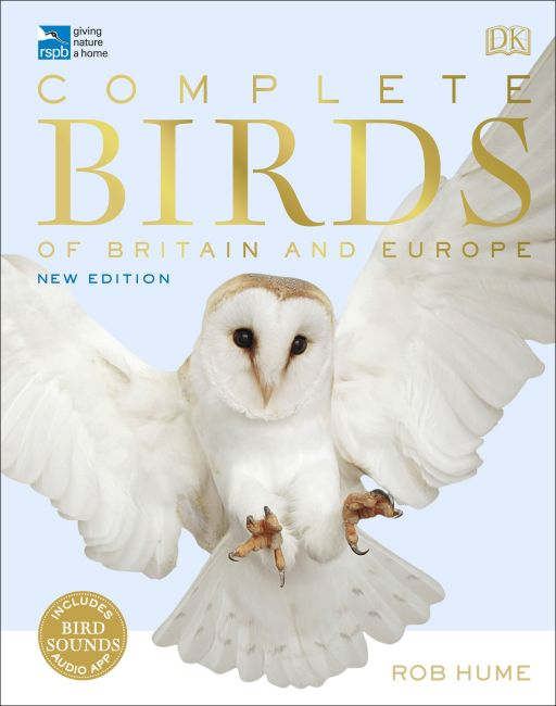 Hardback cover of RSPB Complete Birds of Britain and Europe
