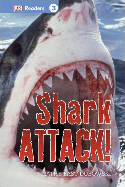 Hardback cover of DK Readers L3: Shark Attack!