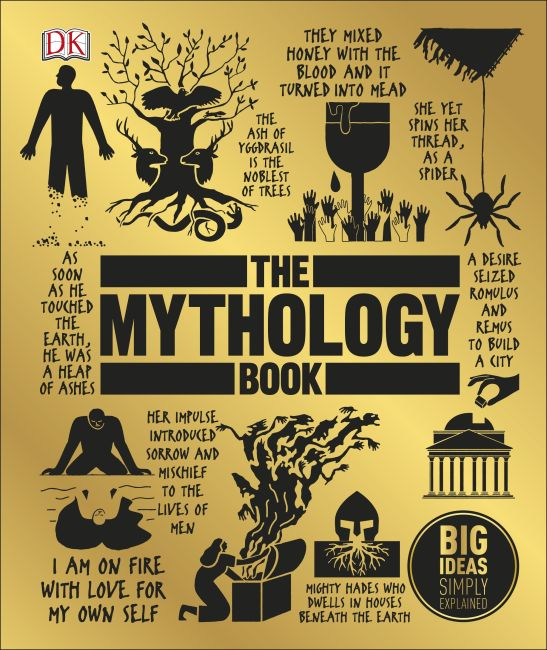 Hardback cover of The Mythology Book