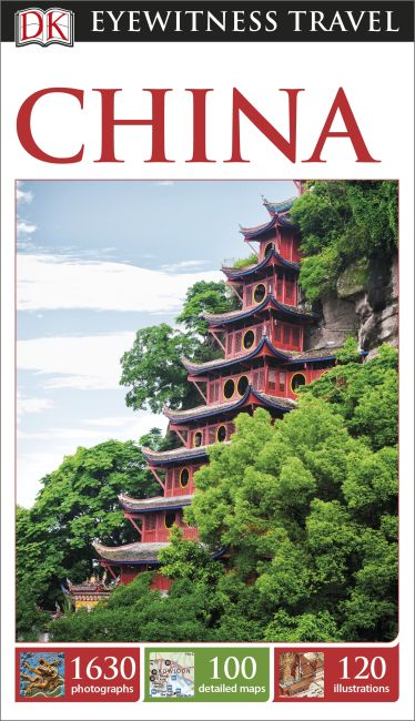 Paperback cover of DK Eyewitness Travel Guide China