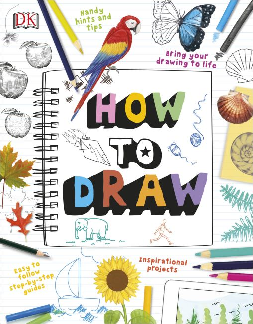 Paperback cover of How To Draw