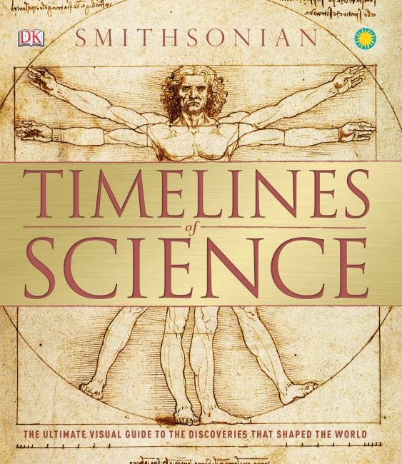 Hardback cover of Timelines of Science