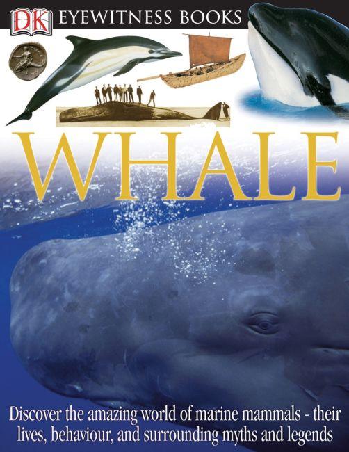 Hardback cover of DK Eyewitness Books: Whale