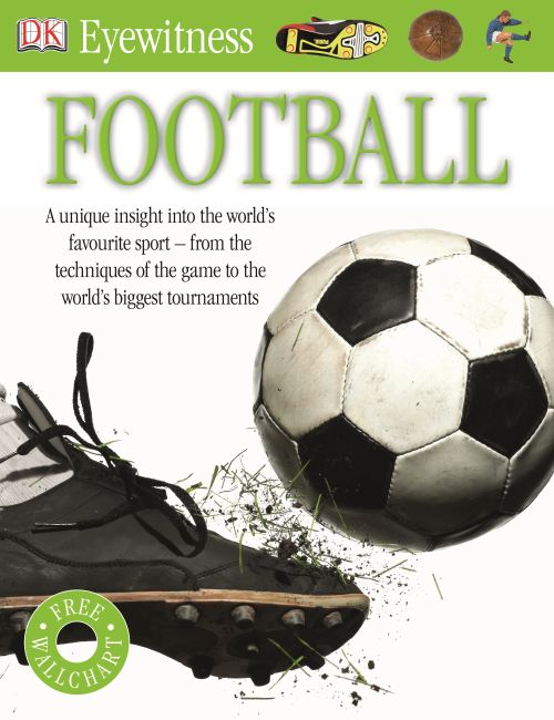 Paperback cover of Eyewitness Football