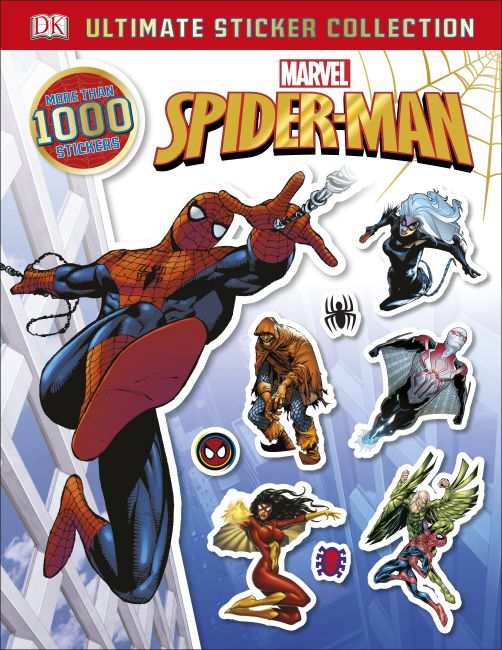 Paperback cover of Ultimate Sticker Collection: Spider-Man