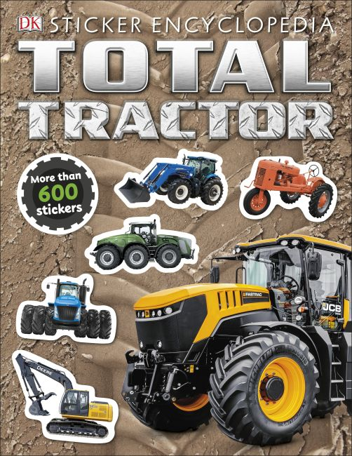 Paperback cover of Total Tractor Sticker Encyclopedia