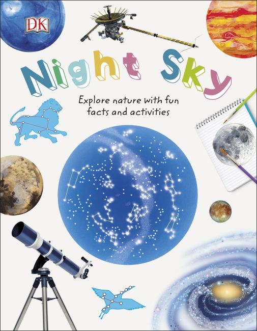 Hardback cover of Night Sky