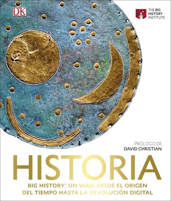 Hardback cover of Historia. Big History