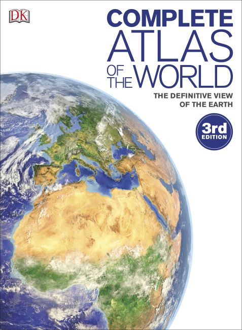 Hardback cover of Complete Atlas of the World, 3rd Edition