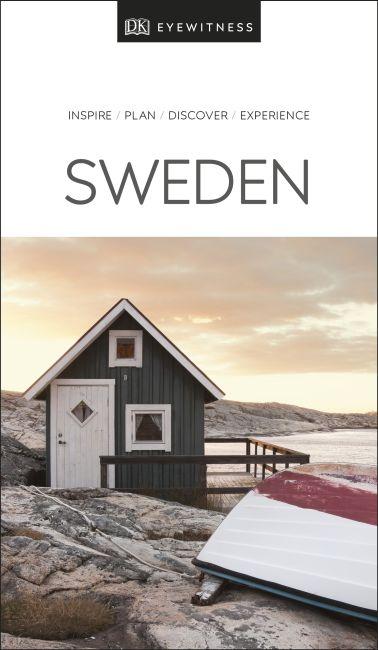Paperback cover of DK Eyewitness Travel Guide Sweden