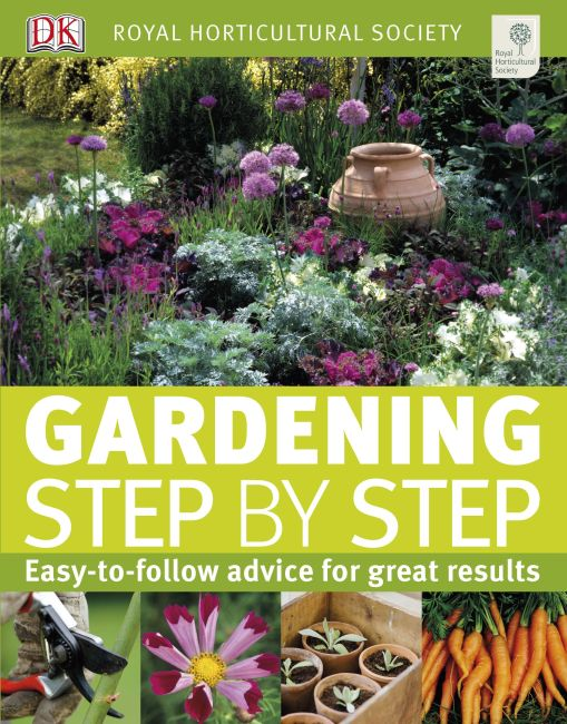 eBook cover of RHS Gardening Step by Step