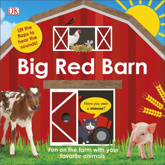 Board book cover of Big Red Barn