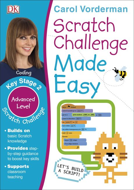 Paperback cover of Scratch Challenge Made Easy