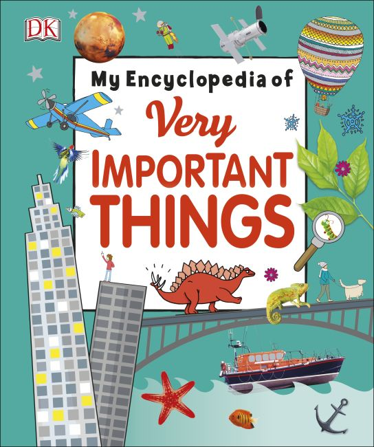 Hardback cover of My Encyclopedia of Very Important Things