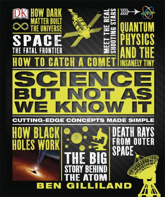 Hardback cover of Science But Not As We Know It