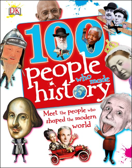 Hardback cover of 100 People Who Made History