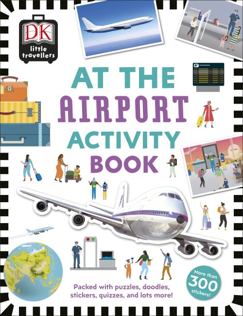 Paperback cover of At the Airport Activity Book