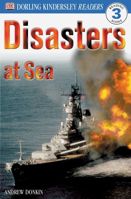 Paperback cover of DK Readers L3: Disasters At Sea