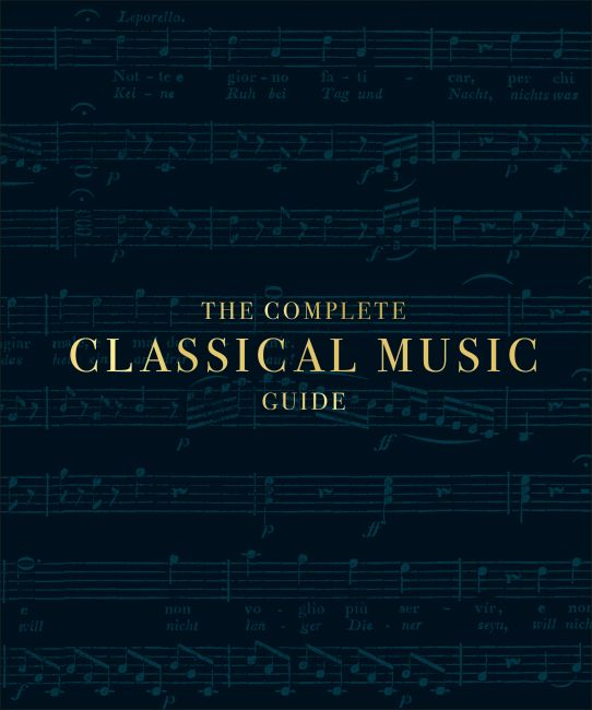 Hardback cover of The Complete Classical Music Guide