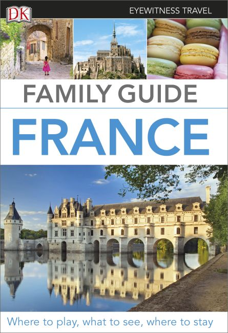 Paperback cover of Family Guide France