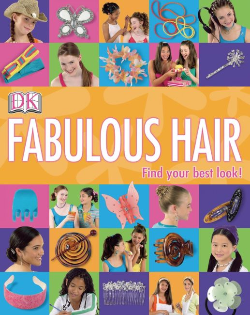 Paperback cover of Girls' Style: Fabulous Hair