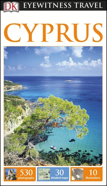 Flexibound cover of DK Eyewitness Travel Guide Cyprus