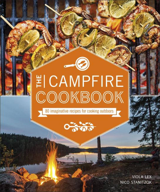 Paperback cover of The Campfire Cookbook