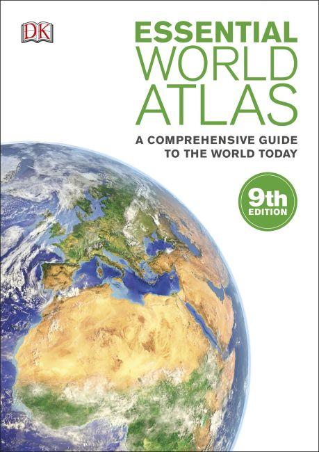 eBook cover of Essential World Atlas