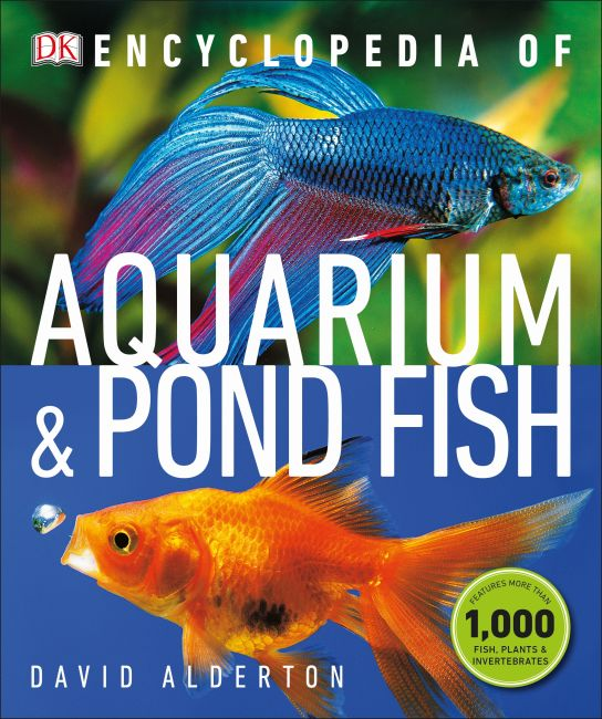 Paperback cover of Encyclopedia of Aquarium and Pond Fish