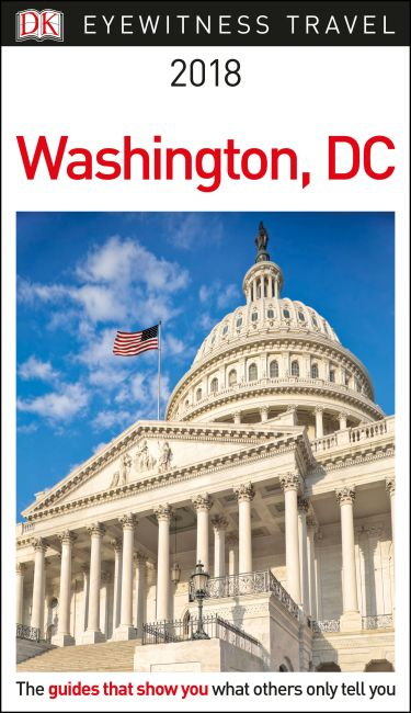 Paperback cover of DK Eyewitness Travel Guide Washington, DC