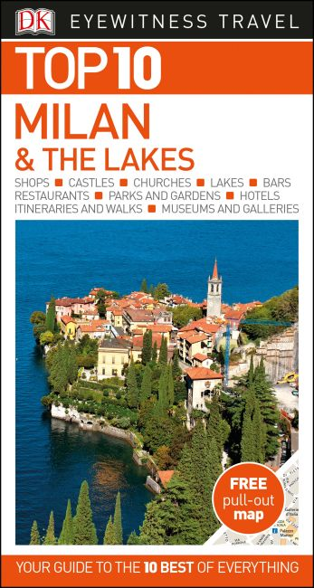 Paperback cover of Top 10 Milan and the Lakes