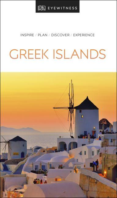 Paperback cover of DK Eyewitness Travel Guide Greek Islands