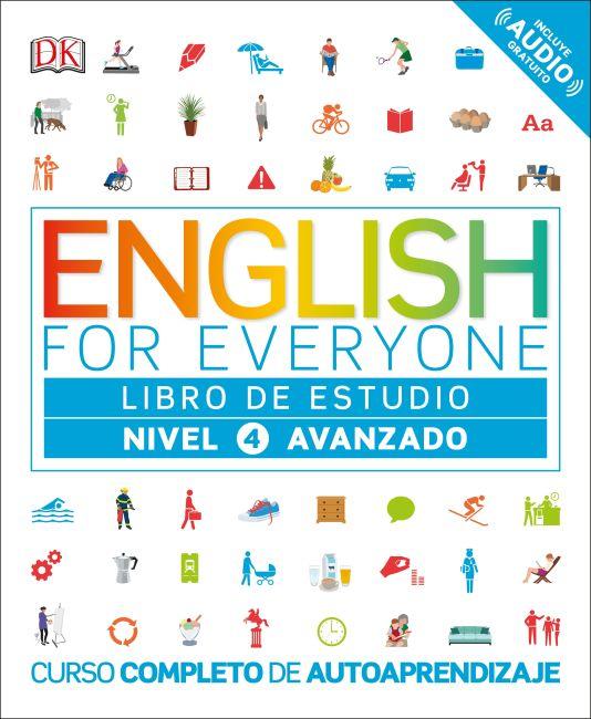 Flexibound cover of English for Everyone: Nivel 4: Avanzado, Libro de Estudio