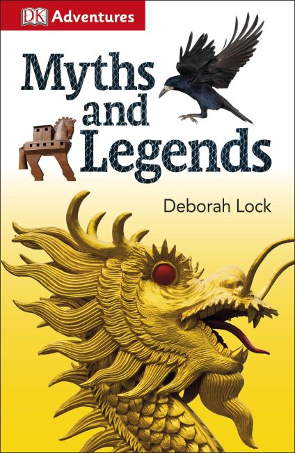 Paperback cover of DK Adventures: Myths and Legends
