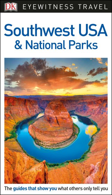 Flexibound cover of DK Eyewitness Travel Guide Southwest USA and National Parks